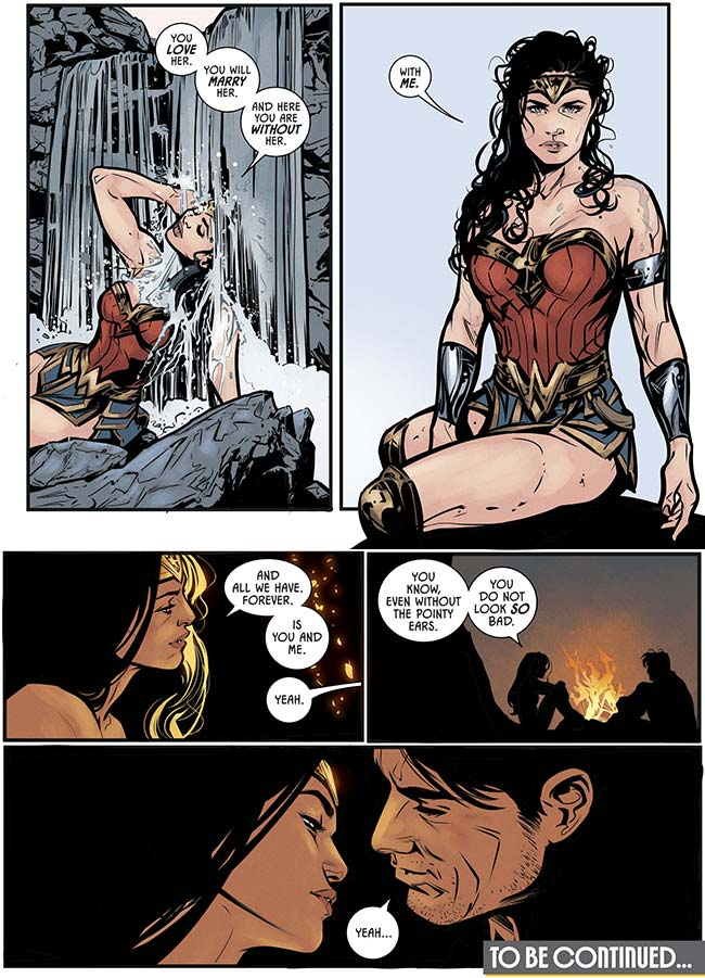 Batman 39 Wonder Woman kiss