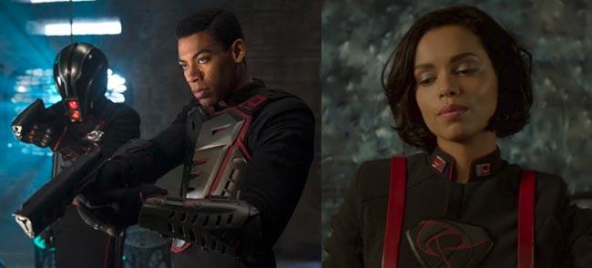 Krypton Syfy Dev Em (Aaron Pierre) Lyta Zod (Georgina Campbell)