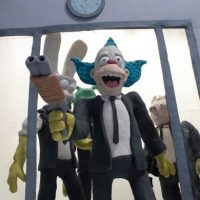 Simpsons couch gag Reservoir Dogs claymation