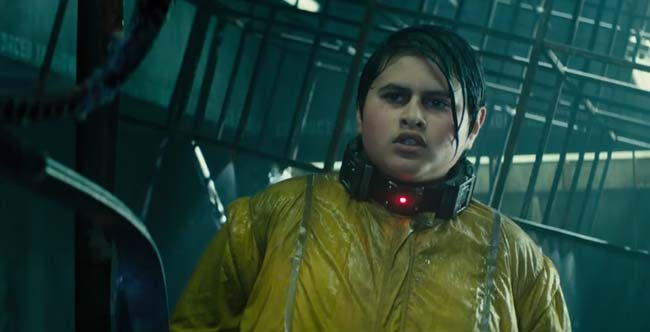 Deadpool 2 Julian Dennison inhibitor collar