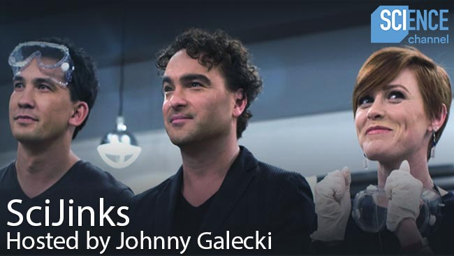 SciJinks hosted by Johnny Galecki Science Channel
