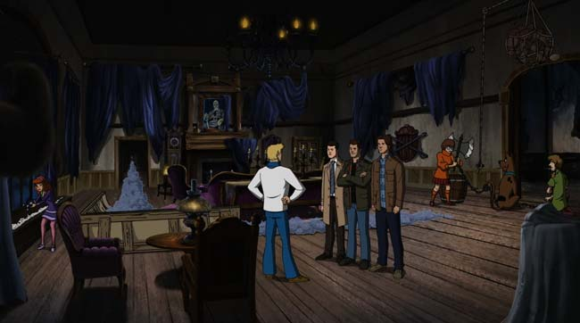 Supernatural Scoobynatural Scooby-Doo Rube Goldberg ghost trap