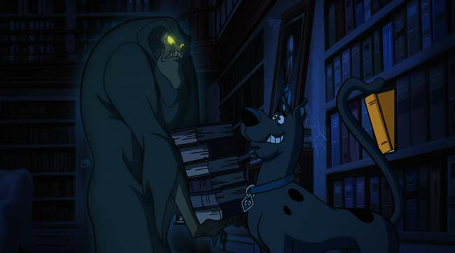 Supernatural Scoobynatural Scooby-Doo bookcase ghost trap door