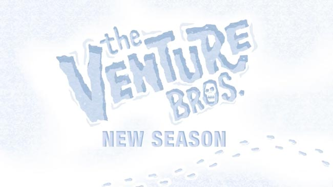 Venture Bros. season 7 snow tracks