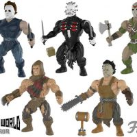 Funko Savage World Horror Leatherface Jason Voorhees Freddy Krueger Pinhead Michael Myers action figures