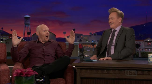 Women are overrated jokes Bill Burr on Conan