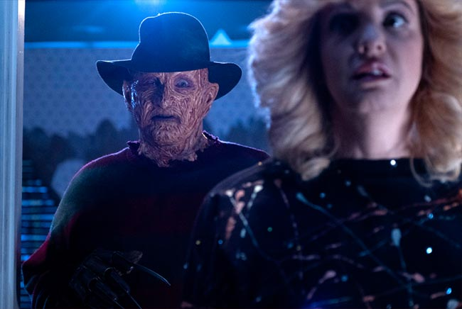 Goldbergs Nightmare on Elm Street Freddy Robert Englund Beverly Wendi McLendon-Covey