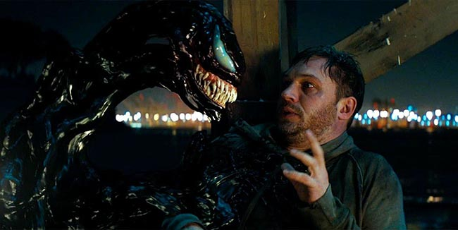 Venom 2018 Tom Hardy movie alien symbiote