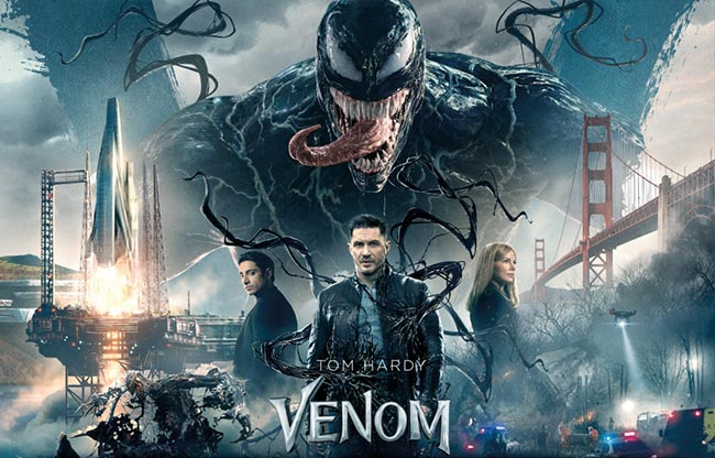 Venom 2018 Tom Hardy movie review