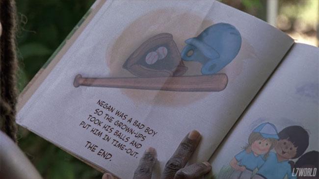 Walking Dead The Obliged Michonne Judith Childrens book Negan bat Lucille