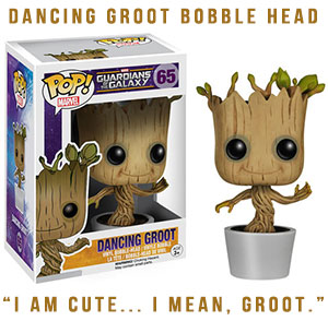 Guardians of the Galaxy Dancing Groot Bobble Head Pop Vinyl  pre-order