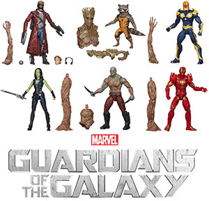 Guardians of the Galaxy Marvel Legends Action Figures Wave 1 pre-order