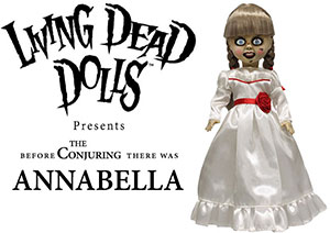Living Dead Dolls Annabelle doll Conjuring Movie