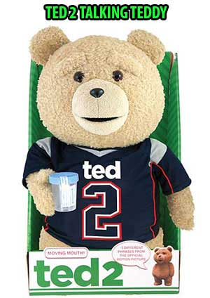 TED 2 TALKING TEDDY BEAR AD