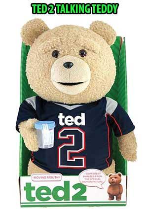 TED 2 TALKING TEDDY BEAR AD