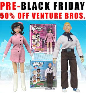 Venture Bros toys
