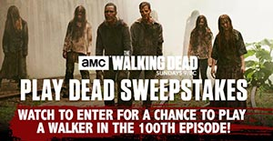 Walking Dead sweepstakes